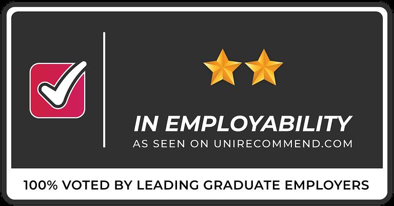 2 Stars in Graduate Employability