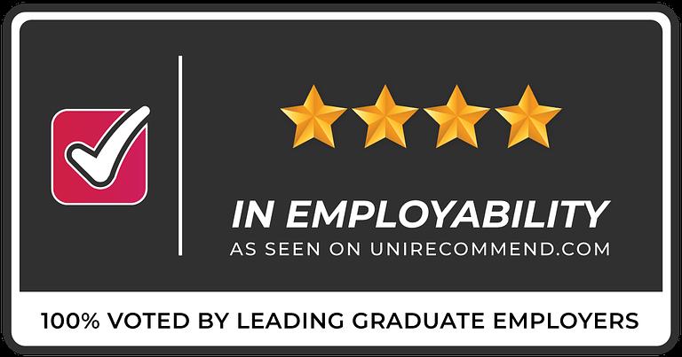 4 Stars in Graduate Employability