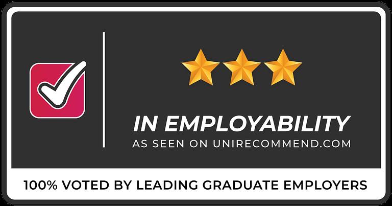 3 Stars in Graduate Employability